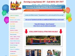 Jump and Slide Party Rentals, Inc