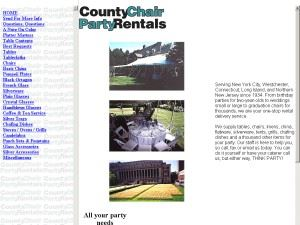 County Chair Party Rental
