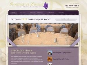 Innovative Linen and Chair Covers