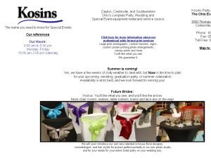 Kosins Rental Centers Incorporated