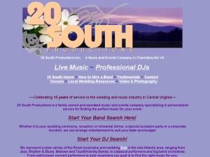 20 South Productions-Live Music