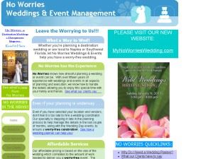 No Worries Weddings & Event Management