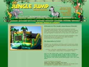 The Jungle Jump Bounce Rentals