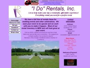 I Do Rentals Incorporated
