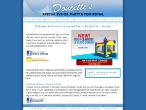 Doucette's Special Events, Party & Tent Rental