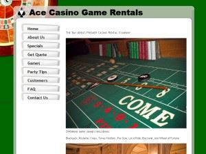 Ace Casino Rental