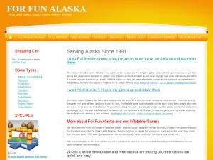 For Fun Alaska Party Rentals Bouncers Event Planning And More