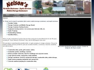 Nelson's Toilet Rental & Septic Service