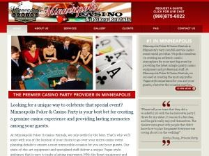 Minneapolis Poker & Casino Rentals