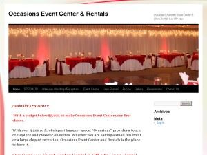 Occasions Event Center And Rentals
