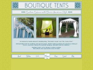 Boutique Tents