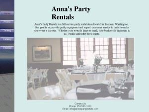 Anna's Party Rentals