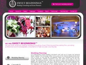 Sweet Beginnings Wedding Consulting & Event Planners