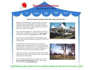 Special Occasions Party Rentals & Sales