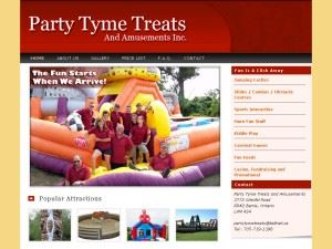 Party Tyme Treats & Amusements Inc