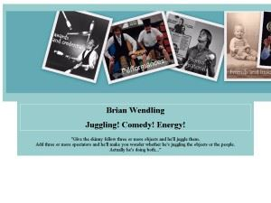 Brian Wendling: Juggling! Comedy! Energy!