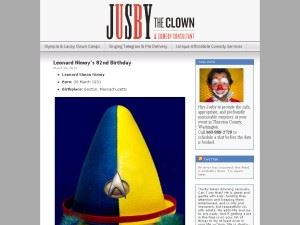 Jusby the Clown and Comedy Consultant