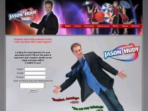 Premier Magic Productions starring Jason Hudy
