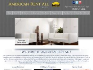 AMERICAN RENT ALL