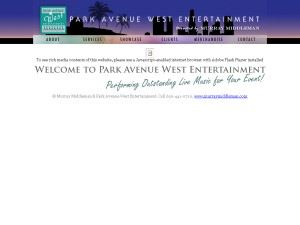 Park Avenue West Entertainment