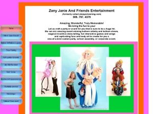 Zany Janie And Friends Entertainment