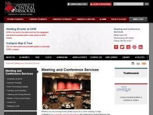 Central Missouri State University Facilities & Conference Services