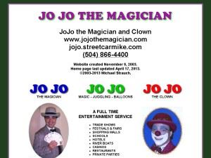 JoJo the Clown And Magician