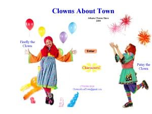 Clowns About Town