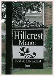 Hillcrest Manor B&B