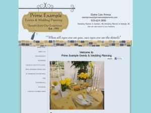 A Prime Example Events & Wedding Planning