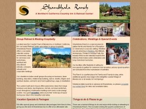 Shambhala Ranch - Mendocino Retreat Center
