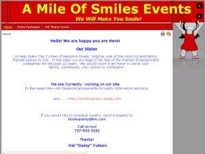 A Mile of Smiles Events