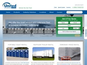 United Site Services Portable Toilets