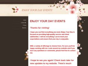 Enjoy Your Day Event Planning