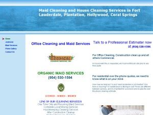 Tropical Cleaning Service Inc.