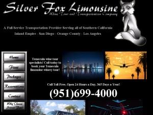 Silver Fox Limousine, Wine Tour and Transportation Company