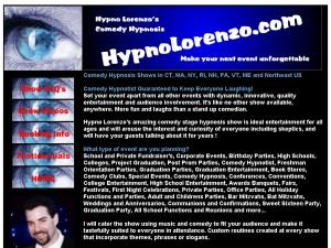 Hypno Lorenzo's Comedy Hypnosis Shows - Trumbull
