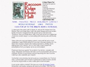 Raccoon Ridge Music Hall