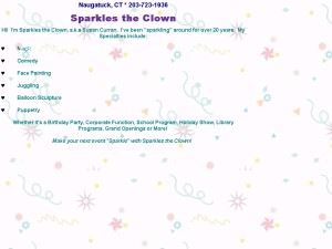 Sparkles the Clown