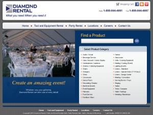 Diamond Rental Party & Event