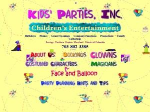 Kids' Parties, Inc.