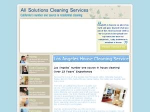 All Solutions Cleaning Services