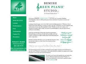 Bemish Green Piano Studio