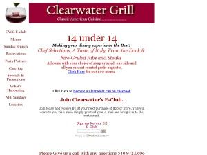 Clearwater Grill and Catering