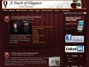 A Touch of Elegance-planner