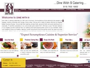 Dine With 9 Catering & Events Staffing