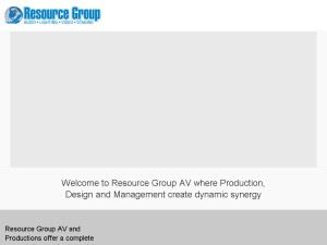 Resource Group AV Inc