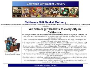 California Gift Baskets & Flowers
