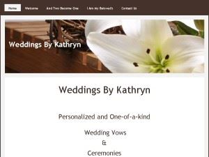 WEDDINGS BY KATHRYN,JP