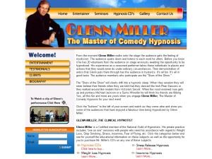"Glenn Miller   ""The Master of Comedy Hypnosis"" - Naples"
